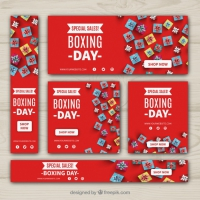 Pack Of Sale Boxing Day Banners