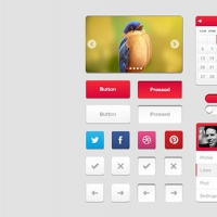 Free PSD UI kit by Armas B