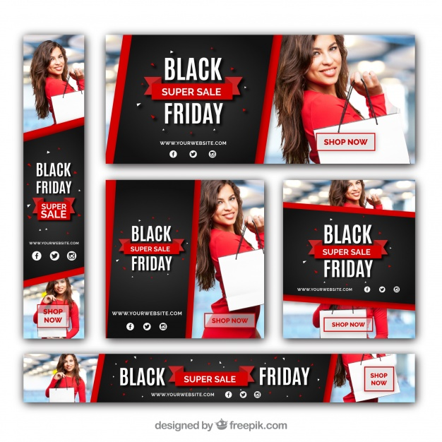 Black Friday Discount Banners Set 2