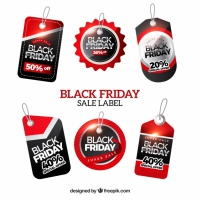 Black Friday Labels Set
