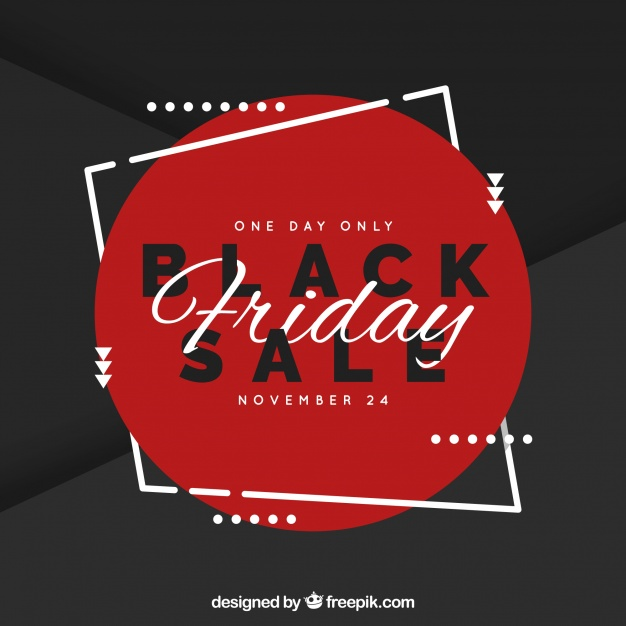 Elegant Black Friday Sale Background