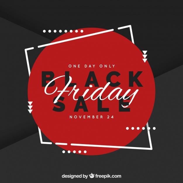 Elegant Black Friday Sale Background