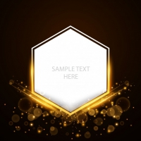 Shining Luxury Blank Polygonal Background