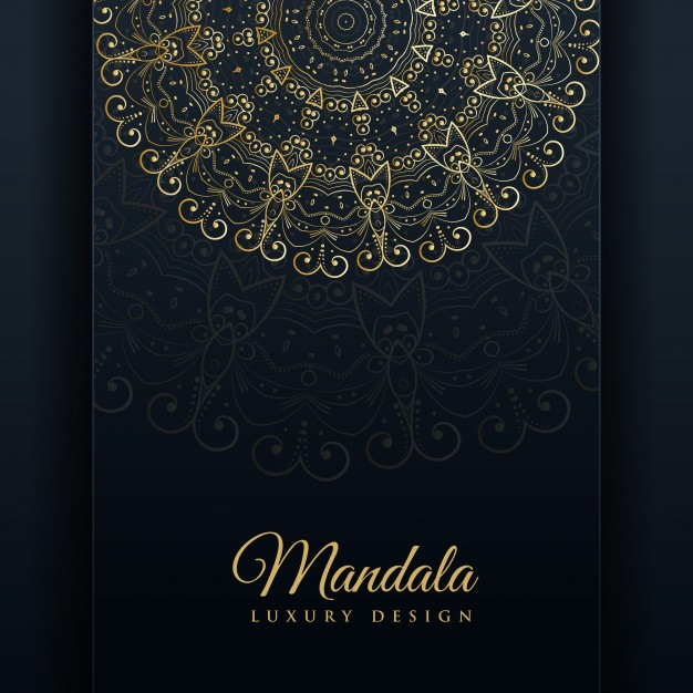 Luxury Ornamental Mandala Design