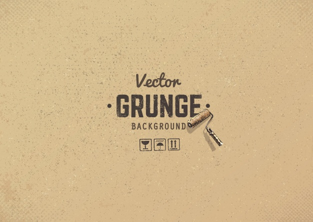Grunge Cardboard Background