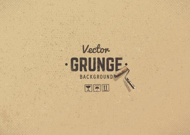 Grunge Cardboard Background
