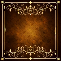 Golden Ornamental Background